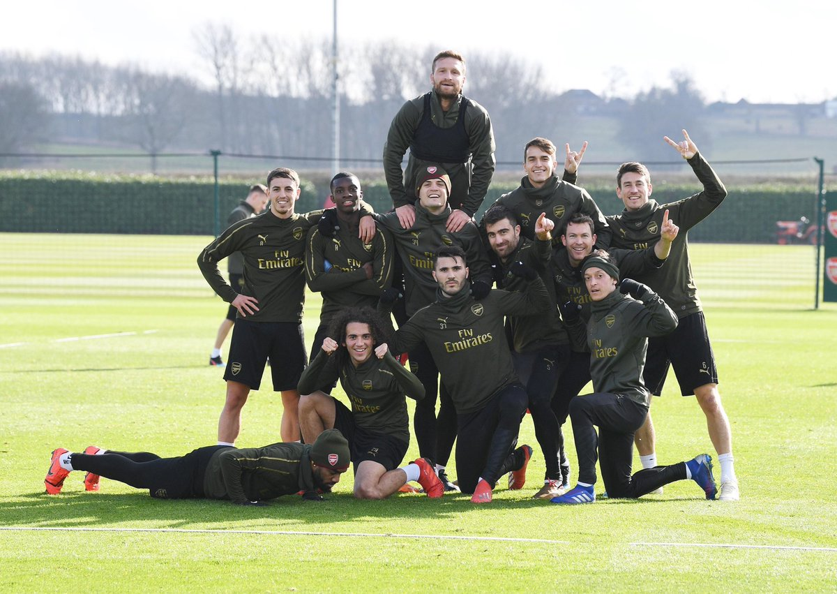 Well Done guys !! But @Aubameyang7 where r u ? 🤨😂 #COYG #Laca