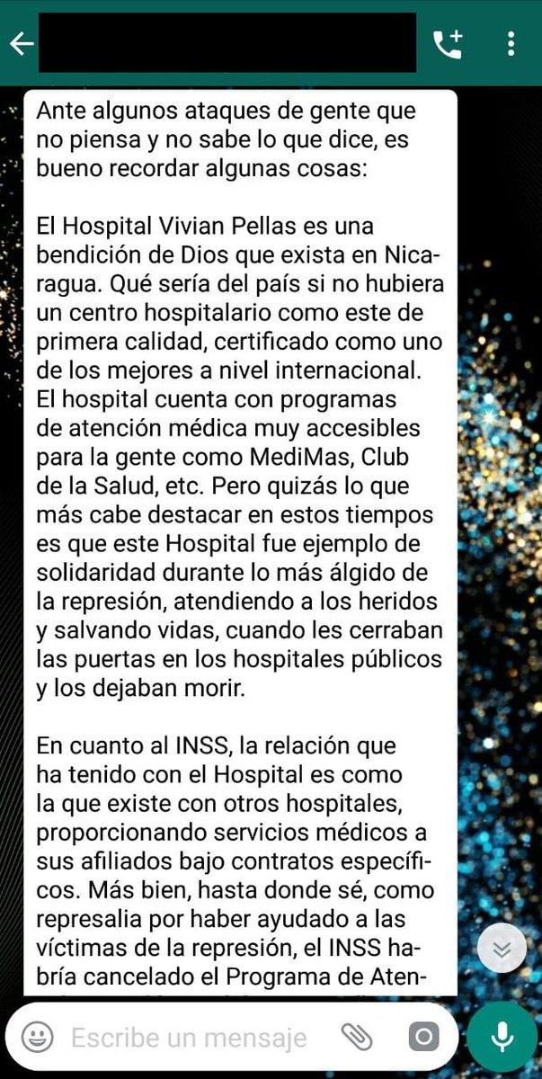 Dejaré esto por acá... #SOSNicaragua https://t.co/GJDIgE06CY