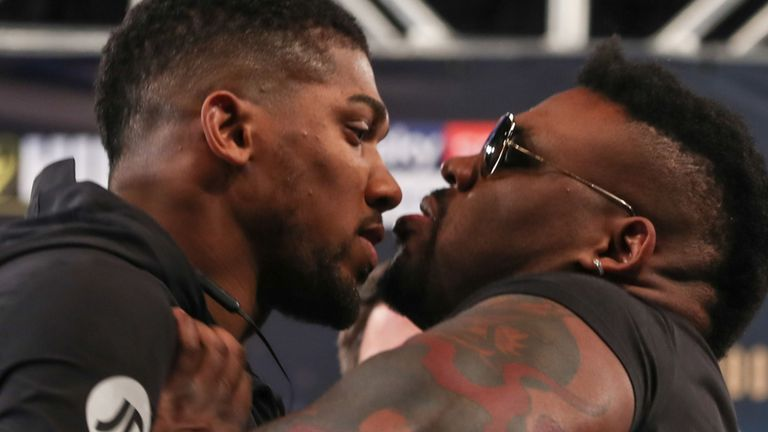 After @AnthonyFJoshua lit up the NY Stock Exchange, @BigBabyMiller invested in his ability to unsettle the champion  But is an angry AJ bad news for the challenger? 😡😡😡  ✍ FEATURE: http://skysports.tv/tkVHCD
