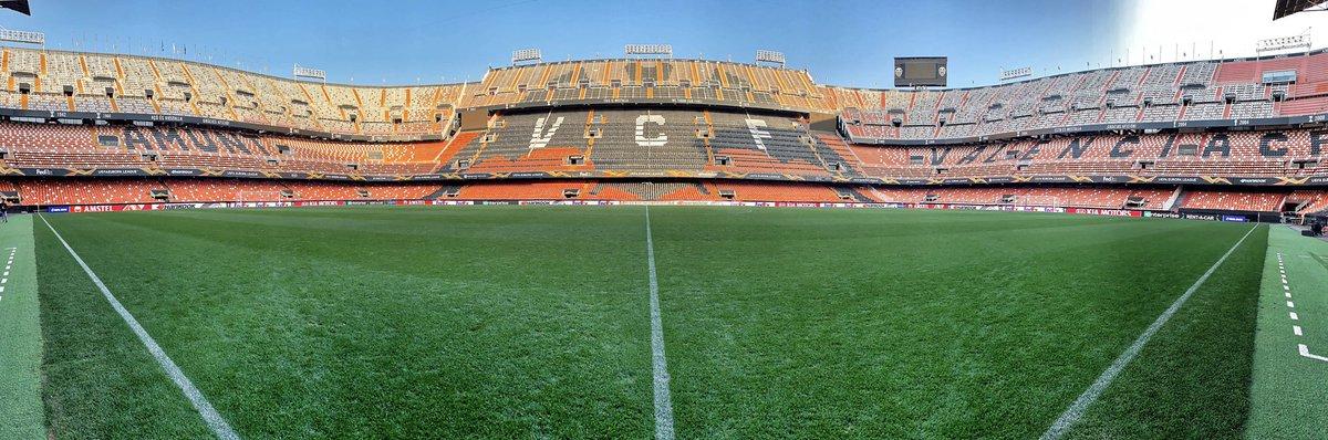 The Mestalla 🦇 #celtic #valenciacf #europaleague