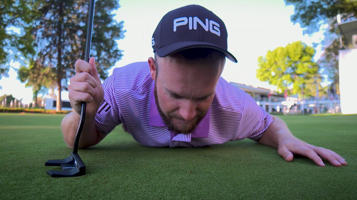 European Tour pro gets revenge on the spike mark that cost him a World Golf Championship
