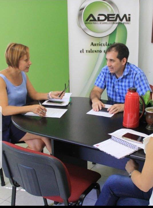Los Servicios domiciliarios y personales, foco de la planificación articulada con el municipio de Posadas. @muniposadas