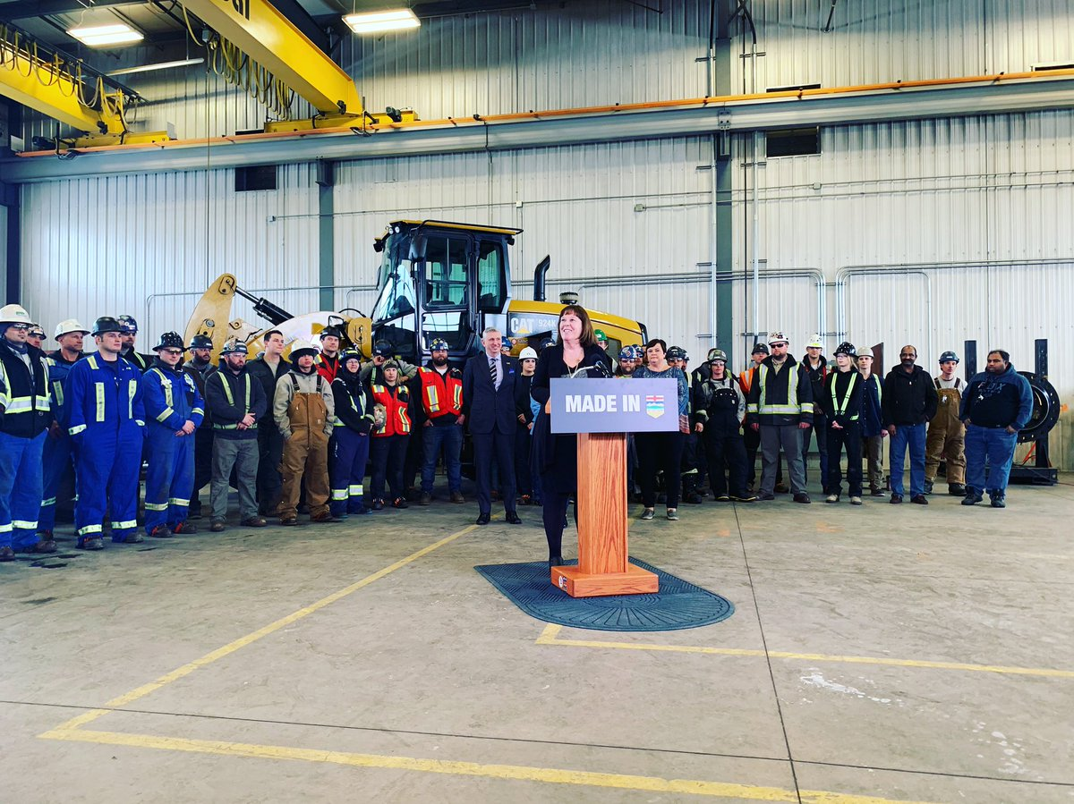Proud to be with Premier @RachelNotley today as we announce a $2-billion private sector investment by Nauticol Energy in a methanol plant just south of Grande Prairie.  Our #MadeInAlberta plan is getting results, creating jobs & attracting billions in investment.  #ableg #abpoli