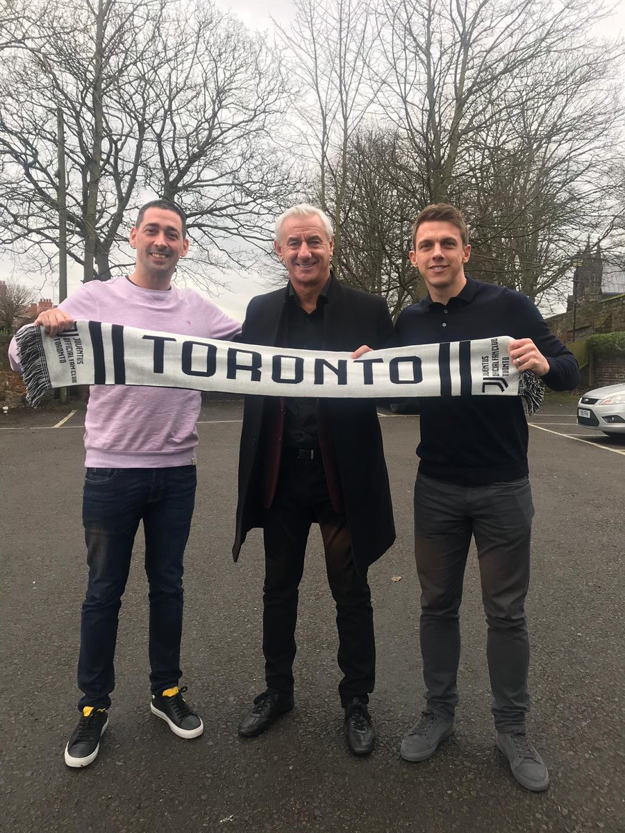 Really interesting day chatting with the legend that is Ian Rush for @DAZN_CA about his time at Juventus, ahead of tonight's game.   @StephenWarnock3 was relegated to the back seat of the car while Rushie was there! 😬⚽️🇨🇦👍  #ATLJUV