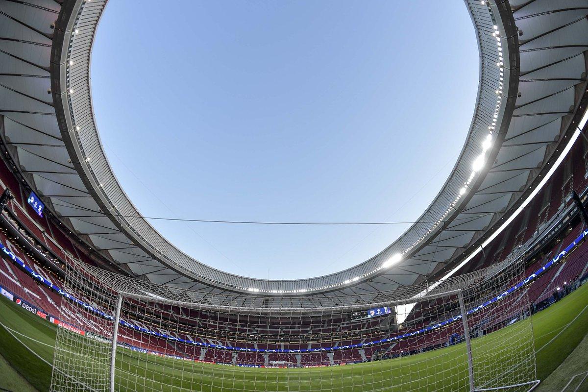 🏆 Final destination... 🏟️ Estadio Metropolitano  #UCL