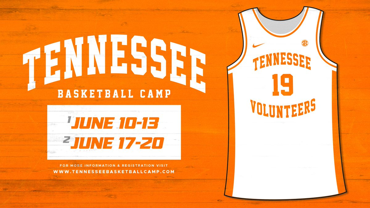 Summer camp registration is LIVE!  • 2 Day Camps (3rd-8th grade) • Father/Son Camp (K-12th grade)  👉 http://TennesseeBasketballCamp.com