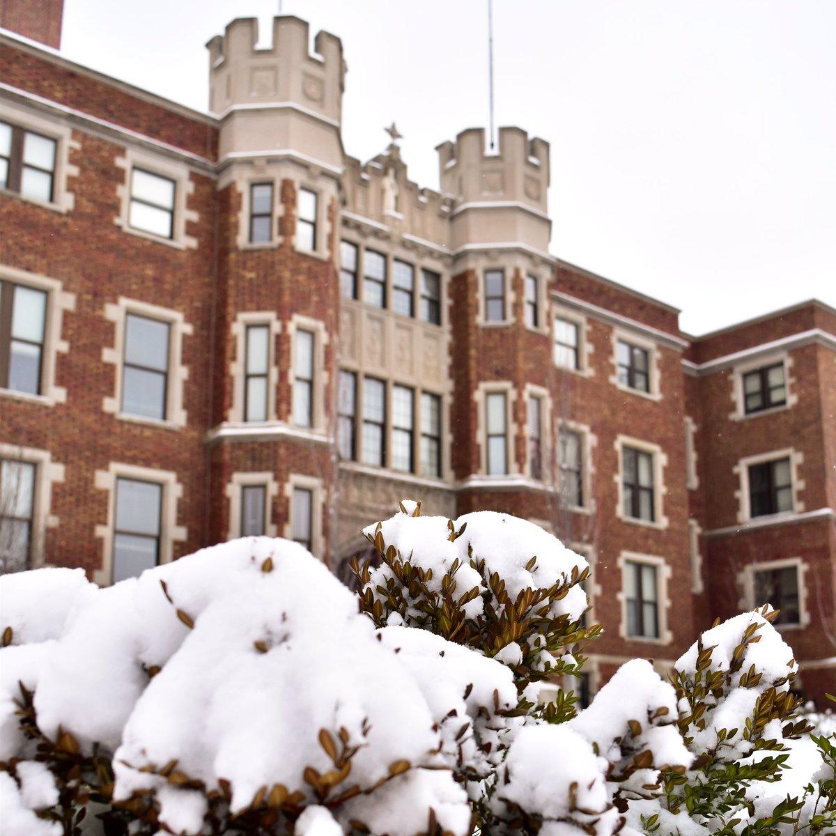 Benedictine College's photo on Snow Day