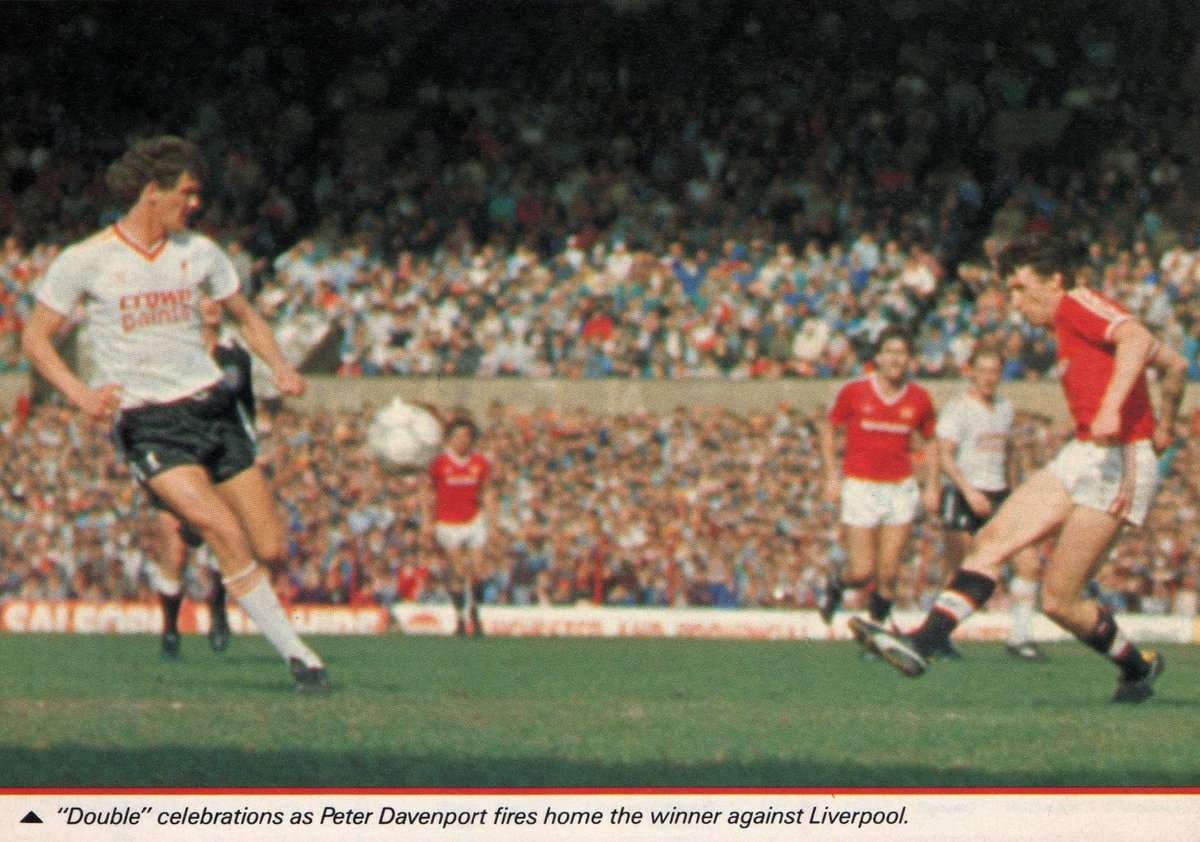 Manchester United 1 - 0 Liverpool, 20th April 1987 #mufc
