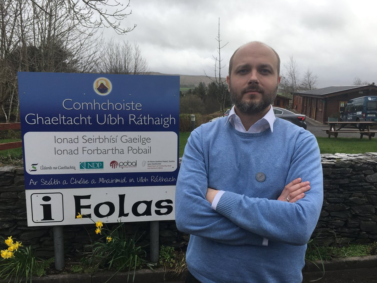 A Russian has just been appointed as an Irish language officer in the Kerry Gaeltacht. Victor Bayda, from Moscow, is fluent in Irish and will implement a language plan for @ComhchoisteUR funded by @UdarasnaG on the Uíbh Ráthach peninsula.