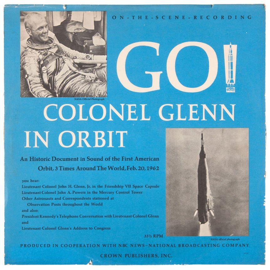 Who remembers owning this John Glenn record?