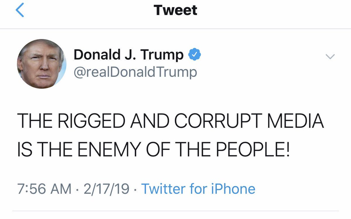 .@TwitterSafety @jack how is this not inciting violence?  Why have you not shut down Trump's account?  Are you waiting for these assassination plans to be successful?