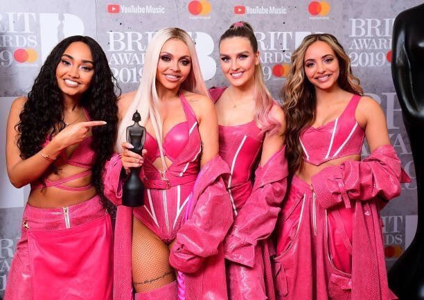 We just can't thank you enough. We bang on about how amazing you are but we really do have the best fans in the world!  We really did just go and win Best British Video ♥️♥️♥️♥️♥️♥️ So grateful we get to do what we love with each other and celebrate in ways like this! the girls x