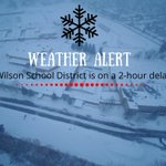 Image for the Tweet beginning: The Wilson School District will