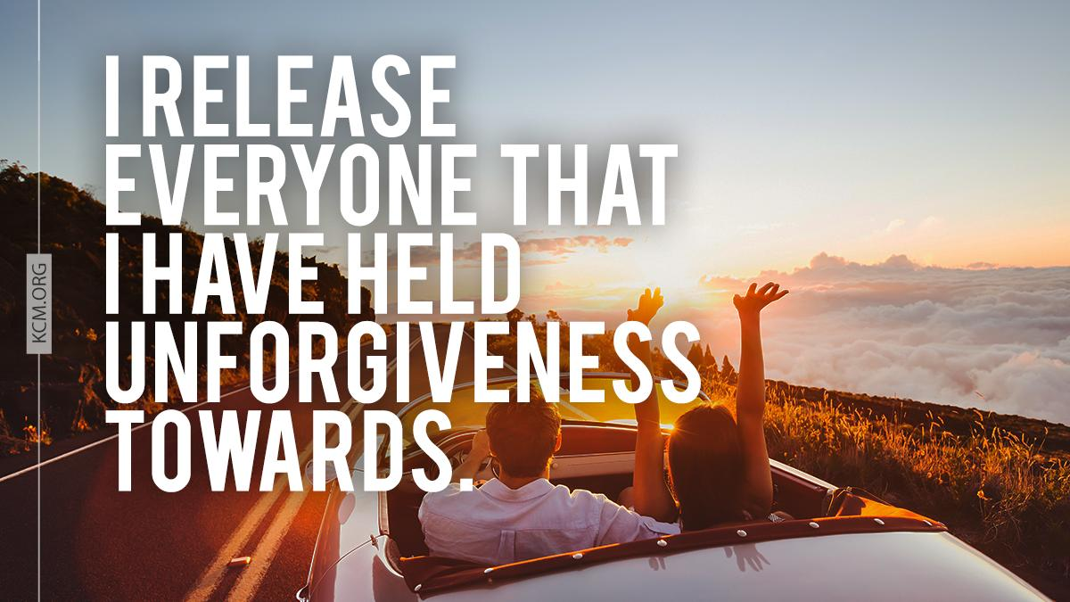 Don't hold on to unforgiveness. It's not worth the burden. Release everyone you have resentment towards today. #BVOV #behealed