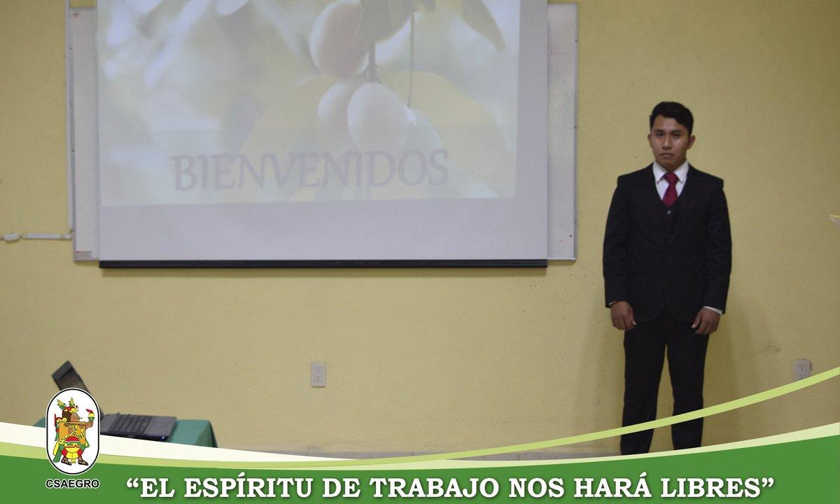 El Centro de Estudios Profesionales del CSAEGRO, felicita al alumno Abel Cortez Marcos, por haber aprobado satisfactoriamente su examen profesional para obtener el título de Ingeniero Agrónomo Fitotecnista. ¡Enhorabuena! #espírituCSAEGRO #CEP