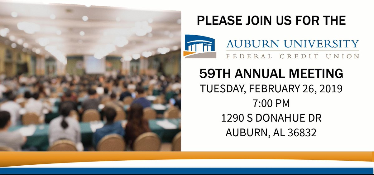 Auburn University Credit Union >> Auburn University Credit Union Auburnunivcu Twitter