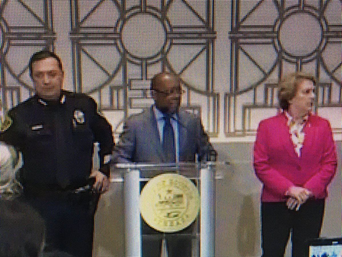 "Houston Mayor Sylvester Turner is now holding a news conference on the Harding St. narcotics raid investigation.  Turner says HPD Chief Acevedo has been ""forthright and candid"" about the investigation. https://on.khou.com/2SPnE6N"