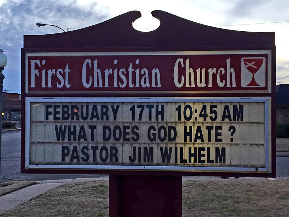 Geez... Is God being too hard on Pastor Jim? Or is Pastor Jim being a little too hard on himself? h/t @reddirtred