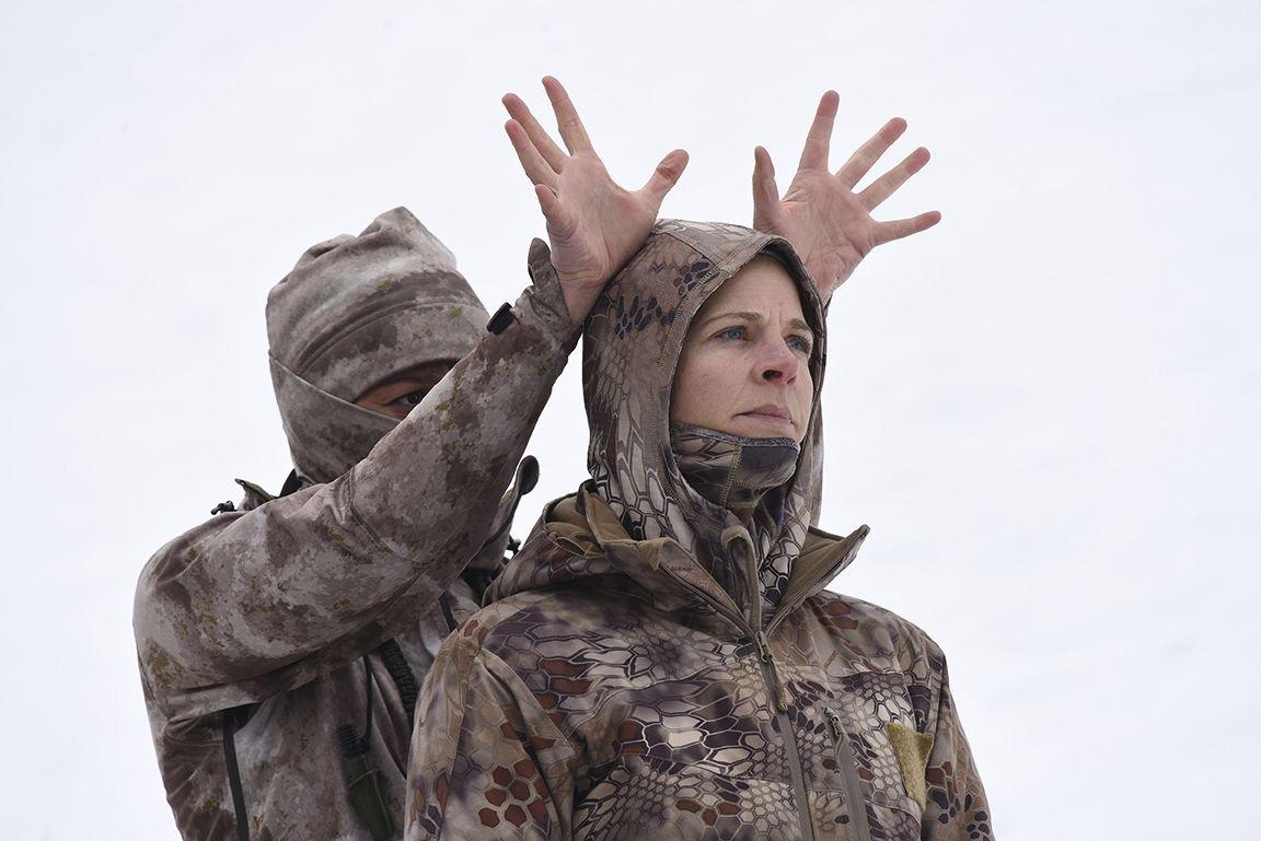 Matthew Barney's new film stars an NRA rifle champ as a mythological huntress in the Idaho mountains:  https://t.co/4lA3ubZydS