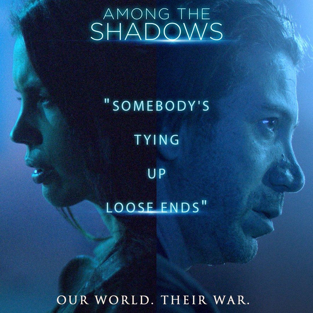among the shadows (2019) poster