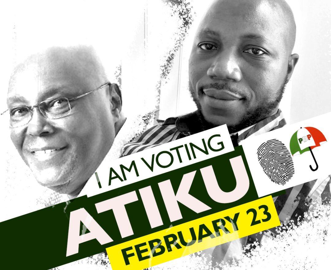 Who else is voting for @atiku this Saturday? I am fully Atikulated  #BetterNigeria #AtikuWillWin  #AtikuObi2019  #NigeriaDecides<br>http://pic.twitter.com/zrciTETlRK