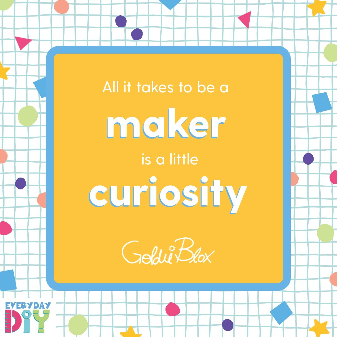 Wise words from our fav maker's new book! 💛 🔧✨ https://t.co/mOPmkWVfiM  #WednesdayWisdom #GirlsInSTEM #STEM