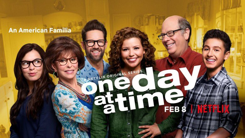 NEWS: Met with @Netflix about @OneDayAtATime S4  They made clear that they love the show, love how it serves underrepresented audiences, love its heart & humor, but...we need more viewers. They'll decide soon.  I wish I felt more confident  WHAT CAN YOU DO? Tell friends to watch!