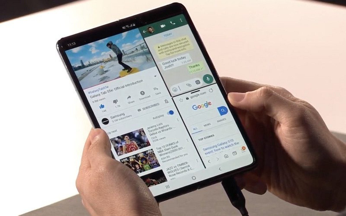 Samsung Unveils the Galaxy Fold, Its New $1,980 Foldable Smartphone https://t.co/G4ncxBDO5t