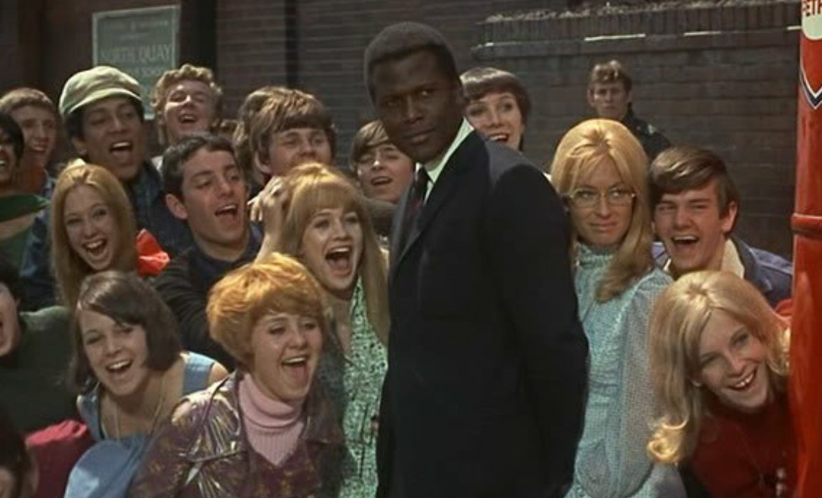 To Sir With Love. Happy Birthday Sir! #SidneyPoitier 😊