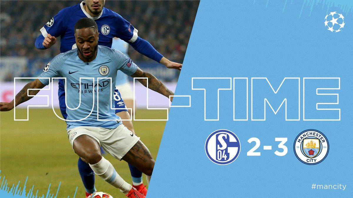 Xem lại Schalke 04 2-3 Manchester City, 3h00 ngày 21/2 (Champions League)