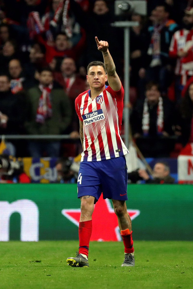 Two Uruguayan defenders lead atletienglish to victory! 🇺🇾🤜🏻❤️🤛🏻🇺🇾  Atleti 2-0 Juventus