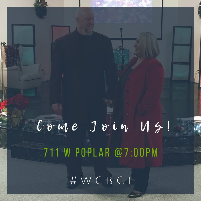 "M I D W E E K  It's Wednesday, our favorite night of the week! Pastor Elia McNutt is ministering on ""Faulty Foundations,"" so get ready church! Prepare yourself to be renewed with the word of God and don't forget to #TagAFriend to invite them to service. Childcare Provided  #wcbci <br>http://pic.twitter.com/dZDE0NPZmL"
