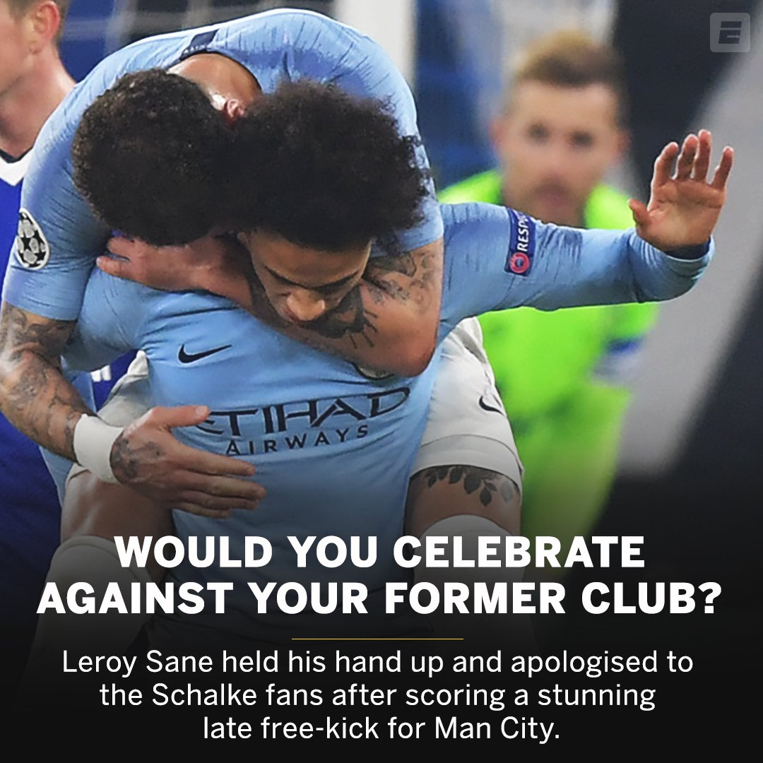 Respect from Leroy Sane.