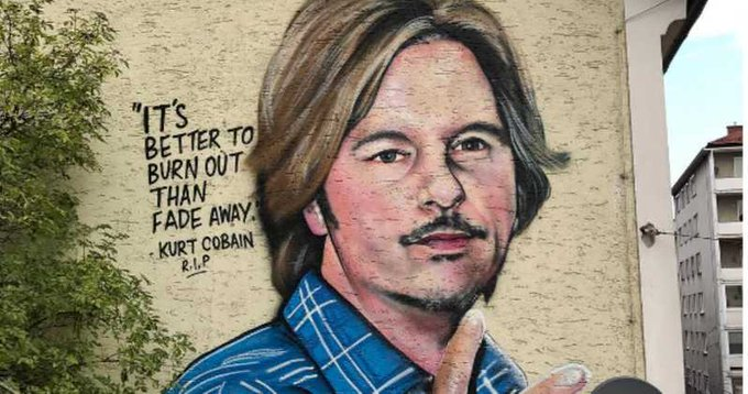 Happy Birthday Kurt Cobain! Your words and image will never been forgotten