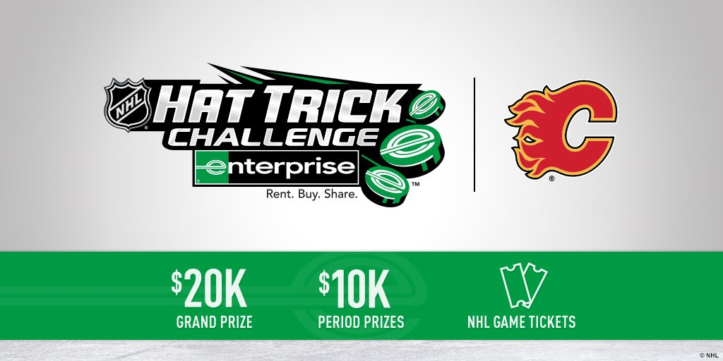 #CofRed, make sure to play the #NHLHatTrickChallenge for a chance to win #Flames swag ~ https://t.co/KavWfNwB9T
