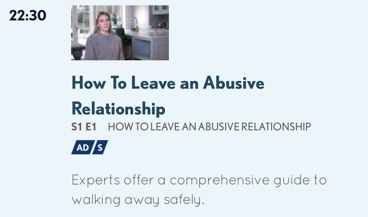 @channel5_tv now... if anyone is up late.   #NoToDomesticAbuse