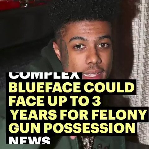 Blueface is facing some serious time for his felony gun charge.  #ComplexNews
