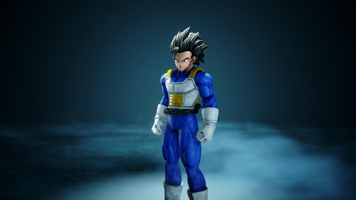 #Shallot Mod for #JumpForce Update 2  -Forehead is smaller,   -Tail has been added  -SSJ and Blue are fully working.  However, due to limitations:  -I can't make the Hairmodel change when going Super.  -can't have the Tail uncurled.  Mod is a collab w/ @Mastaklo   @KaggyFilms