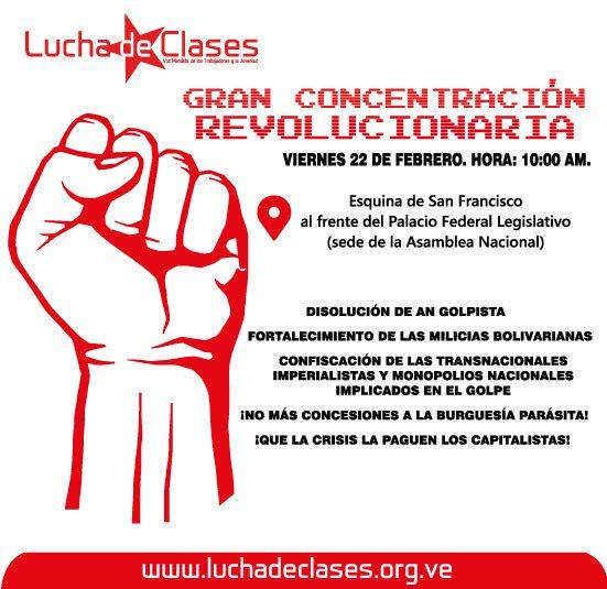 Maduro: Si algo me pasa, ¡retomen el poder y hagan una revolución más radical! - Página 8 Dz4jJ0XXcAEhB2Q