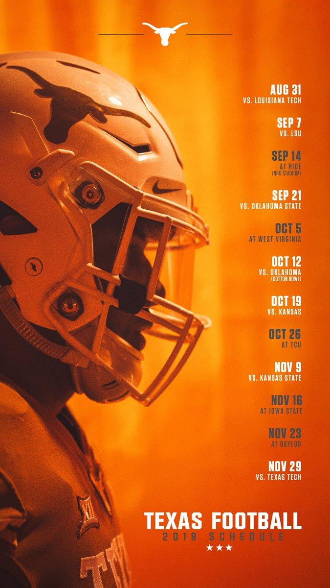 longhorns 2020 football schedule