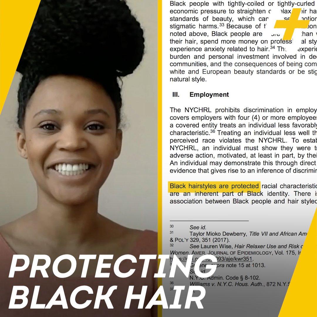 New York Natural Hair Racism Baaz