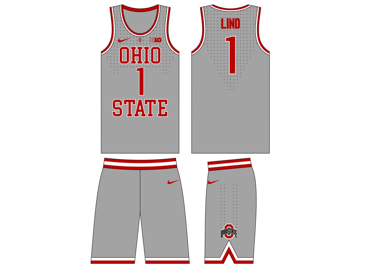 Ohio State Uniforms On Twitter Which Ohio State Basketball