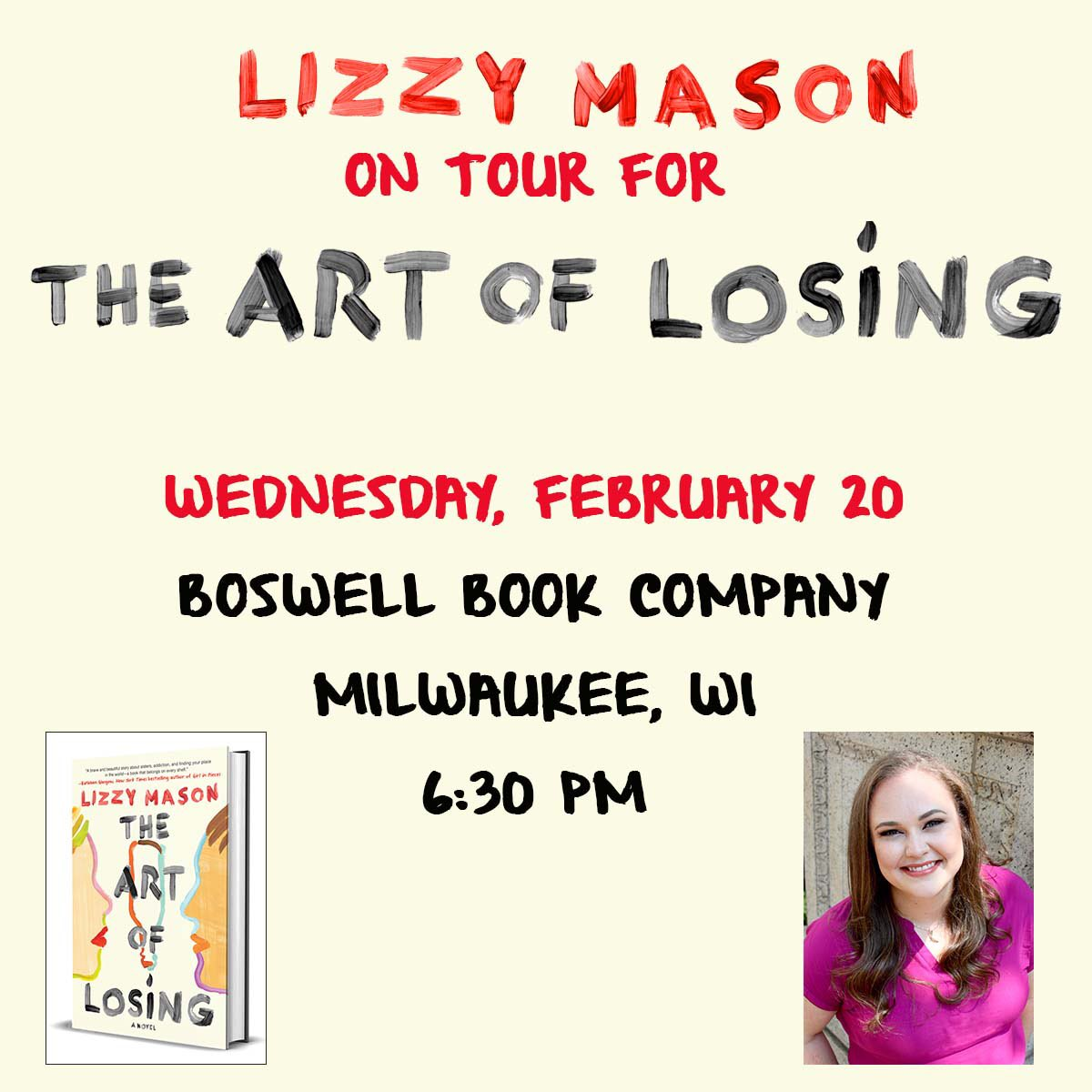 Lizzy Mason On Twitter Tonight I M In Milwaukee At Boswellbooks With One Of My Favorites Phoebedyer