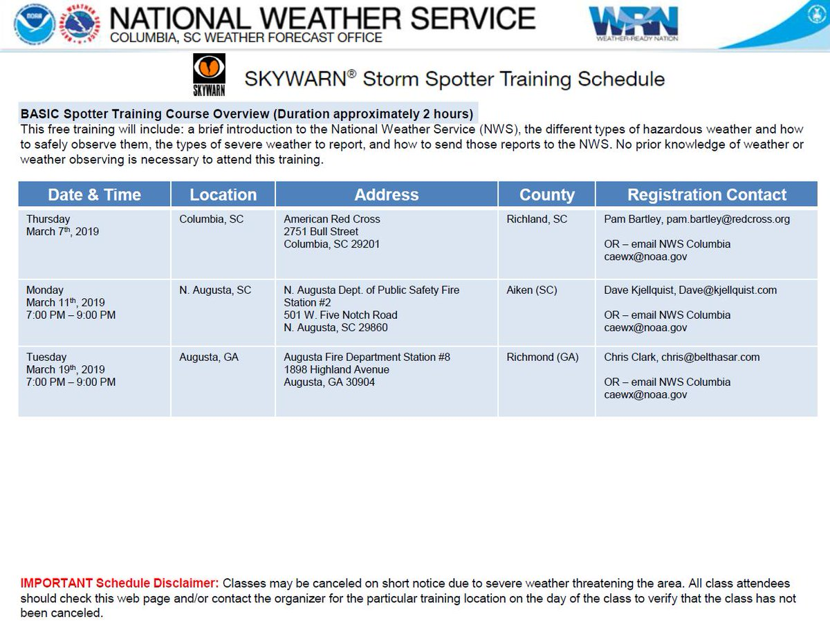NWS Columbia on Twitter: