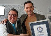 Hugh Jackman logra entrar al Libro Guinness de los Récords. https://t.co/MArERVHYEp