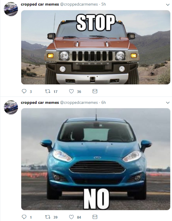 Cropped Car Memes On Twitter