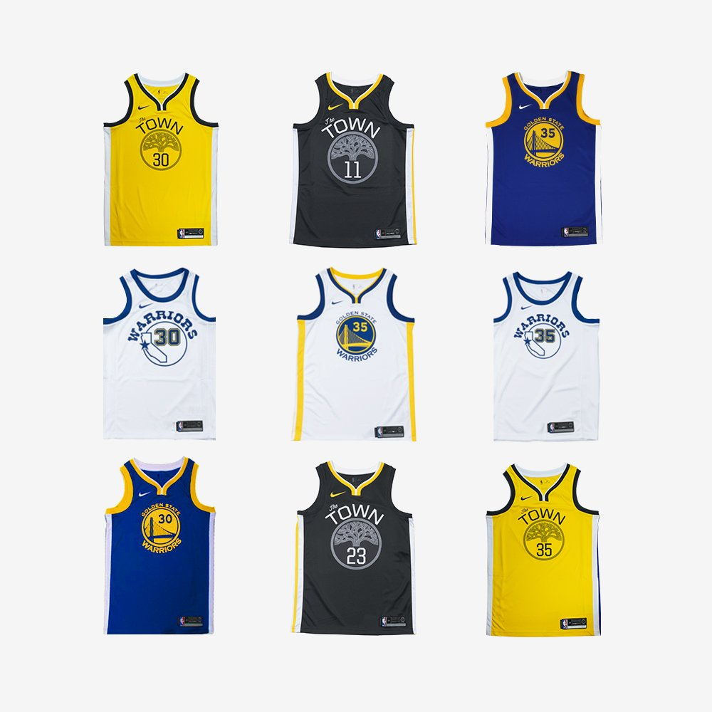 6dfe922629f Selected Warriors Swingman Jerseys are now 30% off their original price in  store and online at https   throwbackstore.com.au . Tag a Dub City fan in  the ...