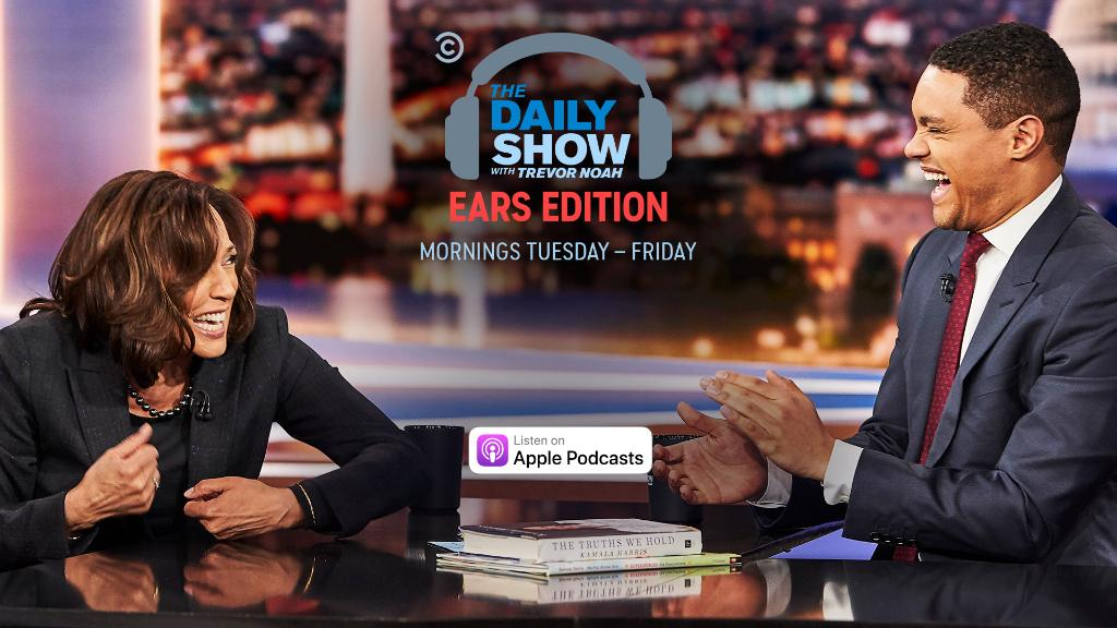 """President Trump is accused of meddling with the investigation of Michael Cohen, Trevor examines America's opioid crisis, and Sen. @KamalaHarris discusses 'The Truths We Hold.""""   Listen and subscribe:  https://t.co/Ey9ga8YjqC"""