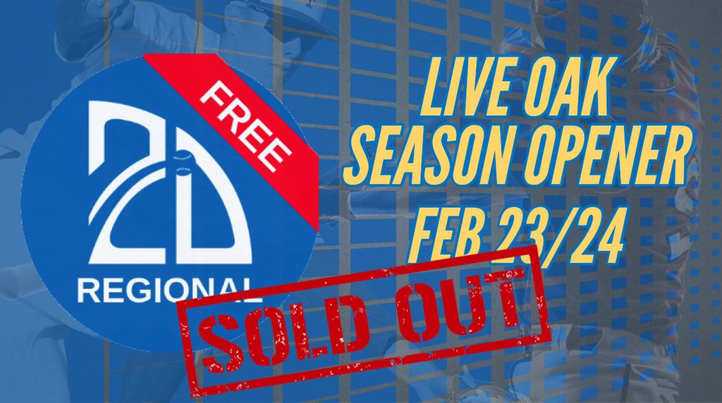 The @2D_sportsYB Season Opener is now SOLD OUT 🚨Good luck to everyone this weekend!  Didn't get registered? Events for March 2/3 are also filling up!🗓 ⬇️⬇️⬇️ http://Play.2Dyouth.org