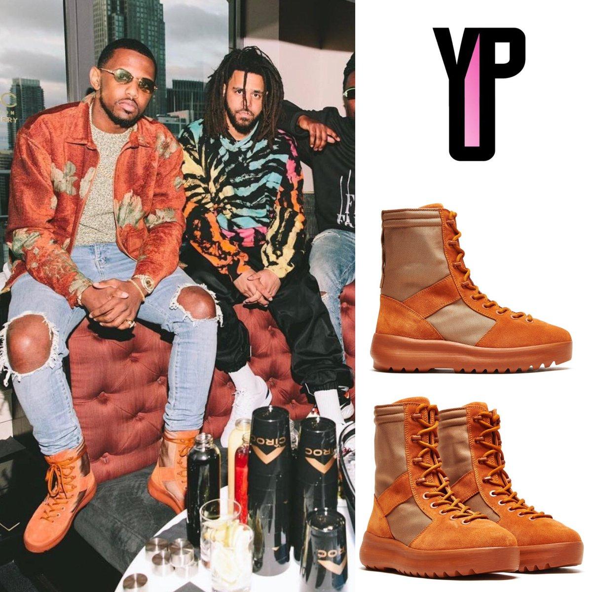 yeezy season 3 boots burnt sienna